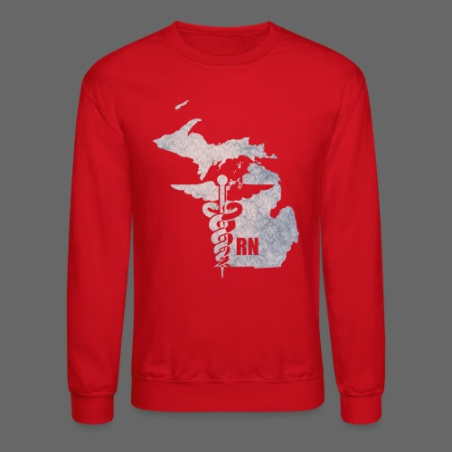 Michigan RN  - Crewneck Sweatshirt