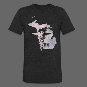 Michigan RN  - Unisex Tri-Blend T-Shirt