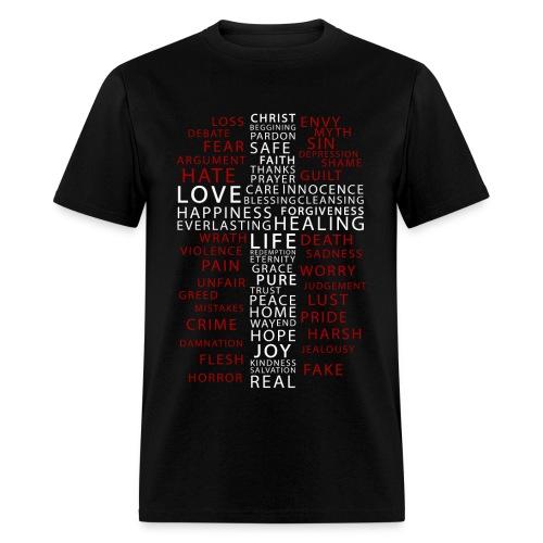The Christ Contrast - Men's T-Shirt