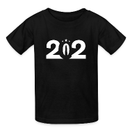 Kids' Shirts ~ Kids' T-Shirt ~ 202 DC Pride Kids Subtractive T-Shirt