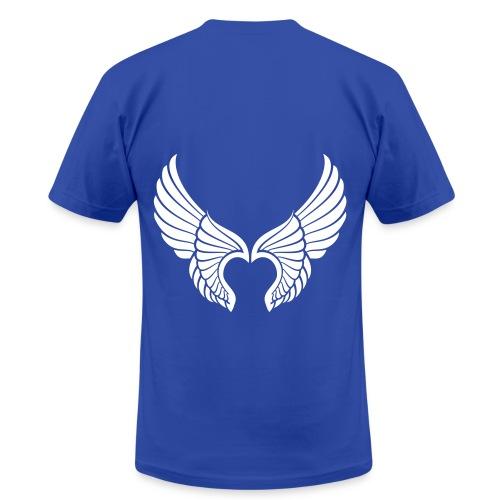 Male- my daughter has wings - Men's Fine Jersey T-Shirt