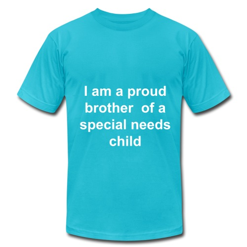 I am a proud brother- t-shirt - Men's Fine Jersey T-Shirt