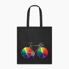 bike with color wheels Bags & backpacks