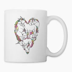 unicorn heart Bottles & Mugs