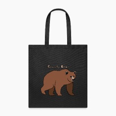 grizzly bear Bags & backpacks