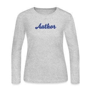 Author Women's Longsleeve - Women's Long Sleeve Jersey T-Shirt