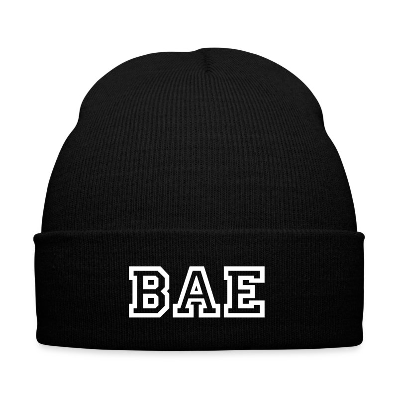 BAE  - Knit Cap with Cuff Print