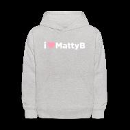 Sweatshirts ~ Kids' Hoodie ~ I Heart MattyB Kids Hoodie