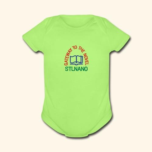 STLNANO baby   - Organic Short Sleeve Baby Bodysuit