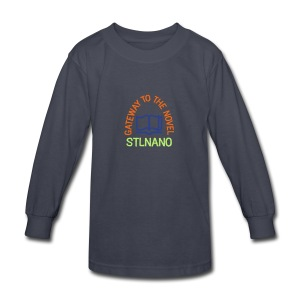 STLNANO kids long sleeve - Kids' Long Sleeve T-Shirt