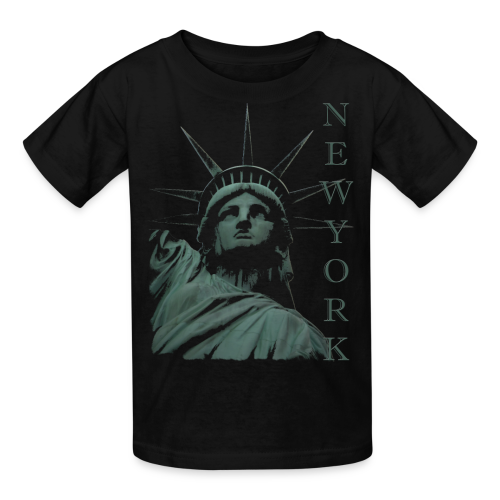 New York Souvenir T-shirts Statue of Liberty Shirts - Kids' T-Shirt