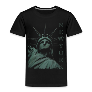 New York Souvenir T-shirts Statue of Liberty Shirts - Toddler Premium T-Shirt