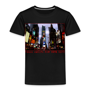 Toddler New York Souvenir T-shirt NYC Times Square Shirt - Toddler Premium T-Shirt