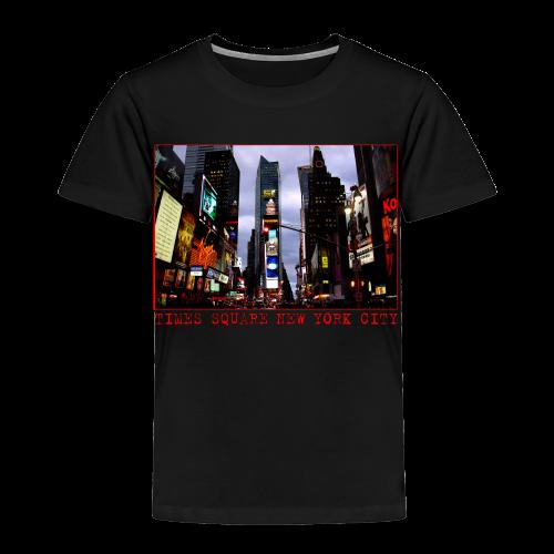 Toddler New York Souvenir T-shirt NYC Times Square Shirt - Toddler Premium T-Shirt