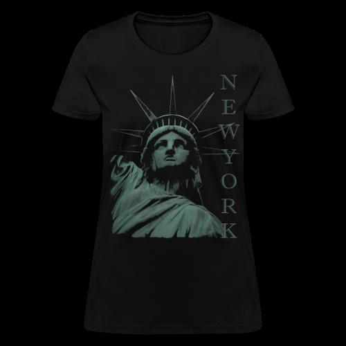 New York Souvenir T-shirts Statue of Liberty Shirts - Women's T-Shirt
