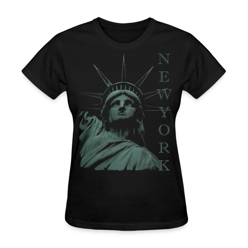 New York Souvenir T-shirts Statue of Liberty Shirts - Women's T-Shirt