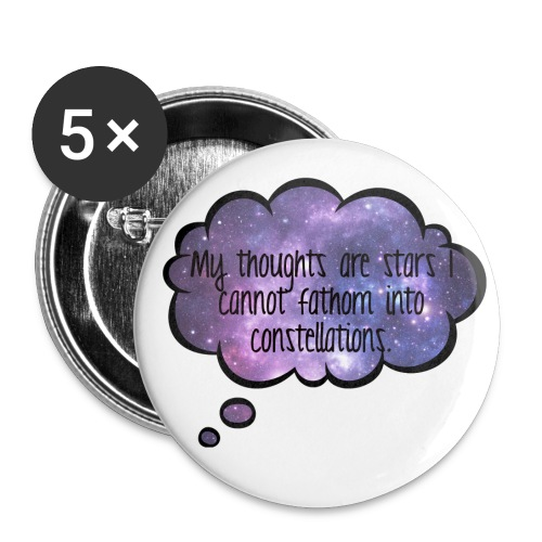 The Fault in our Stars Buttons - Buttons large 2.2'' (5-pack)