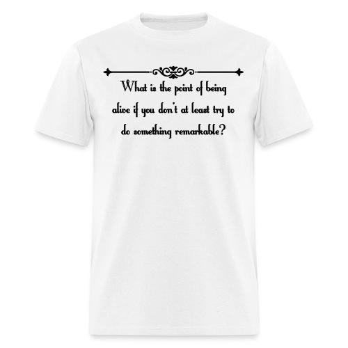 An Abundance of Katherines Quote - Men's T-Shirt