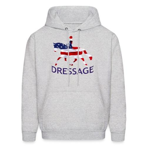 Patriotic Dressage - Men's Hoodie
