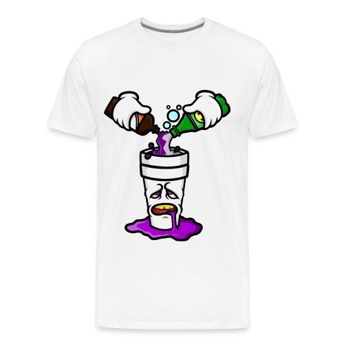 Galaxy Life Sip Lean Til I O.D. - Men's Premium T-Shirt