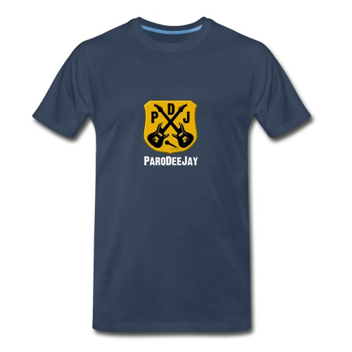 Men's Premium T-Shirt (Navy) - Men's Premium T-Shirt