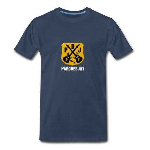 Men's Premium T-Shirt (Navy) - Men's Premium T-Shirt
