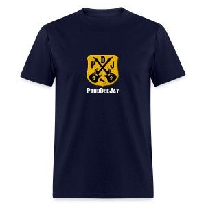 Men's T-Shirt (Navy) - Men's T-Shirt