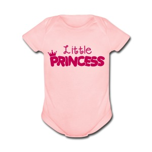 Little Princess - Short Sleeve Baby Bodysuit