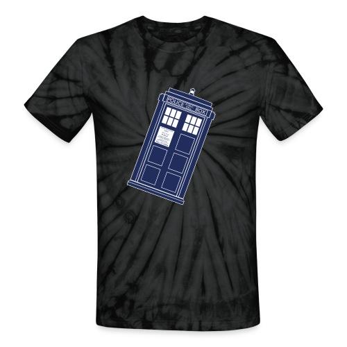 Sucked Into A Vortex - Unisex Tie Dye T-Shirt