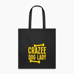 crazee dog lady CRAZY Bags & backpacks