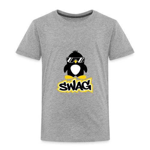 #SWAGpenguin for kule folk! - Toddler Premium T-Shirt