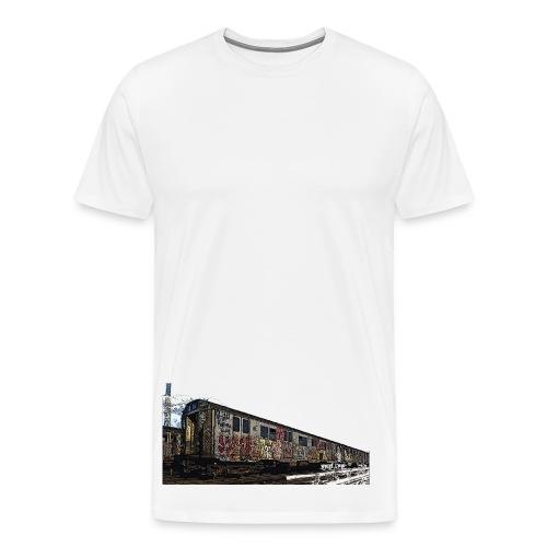 Bombed Train 2 - Men's Premium T-Shirt