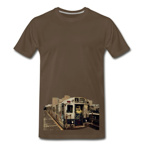 Bombed Train 1 - Men's Premium T-Shirt