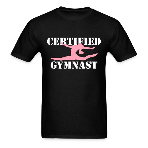 'Certified' Gymnast - Men's T-Shirt