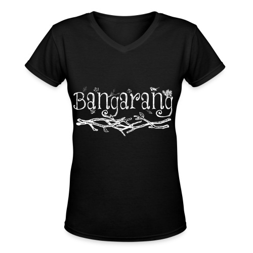 Bangarang Black Women's - Women's V-Neck T-Shirt