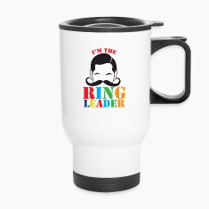 I'm the ringleader with man mustache  Bottles & Mugs