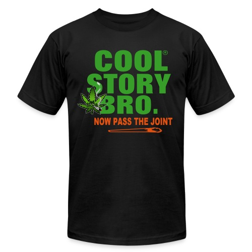 pass the joint - Men's Fine Jersey T-Shirt