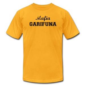Mafia Garifuna -- Yellow - Men's T-Shirt by American Apparel