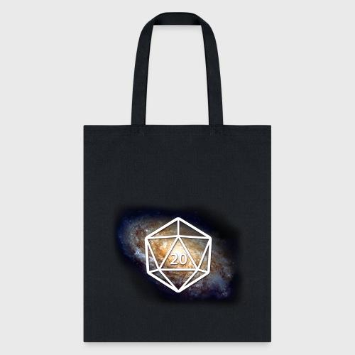 Space Geek Galaxy d20 - Tote Bag