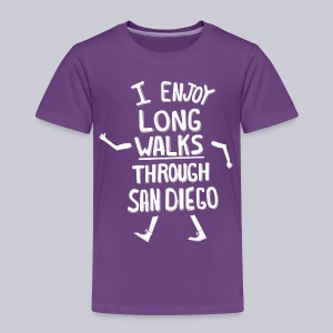 Enjoy Long Walks San Diego - Toddler Premium T-Shirt