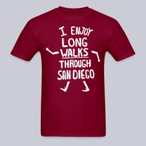 Enjoy Long Walks San Diego - Men's T-Shirt