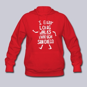 Enjoy Long Walks San Diego - Women's Hoodie