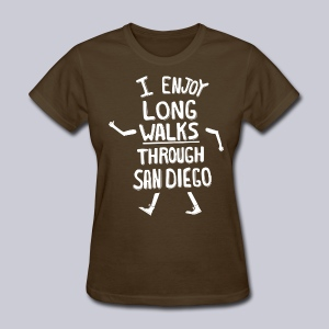 Enjoy Long Walks San Diego - Women's T-Shirt