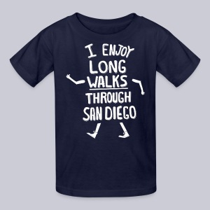 Enjoy Long Walks San Diego - Kids' T-Shirt