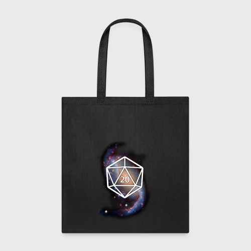 Astronomy Space Galaxy Geek d20 - Tote Bag