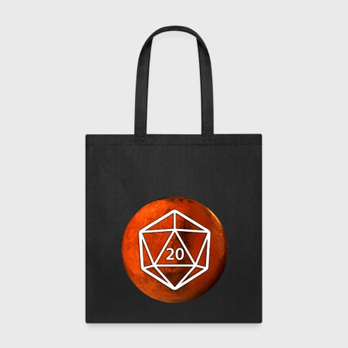 Mars Astronomy d20 Space Dice - Tote Bag