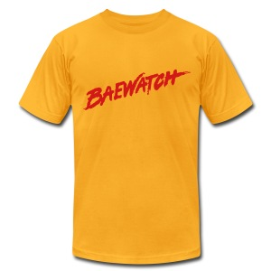 Bae Watch - Men's T-Shirt by American Apparel
