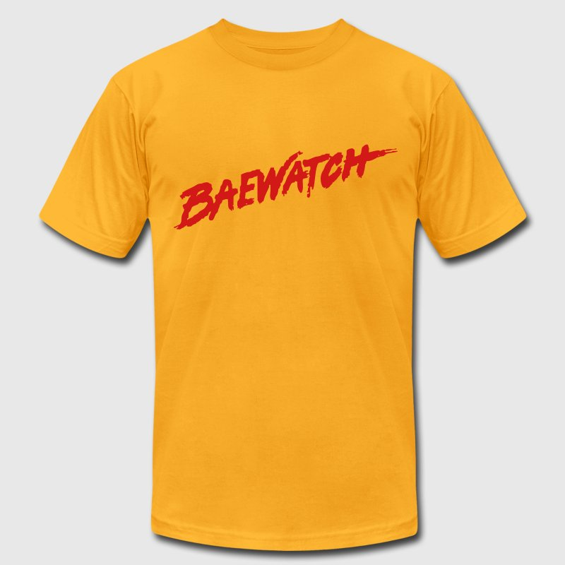 Baewatch T-Shirts - Men's T-Shirt by American Apparel