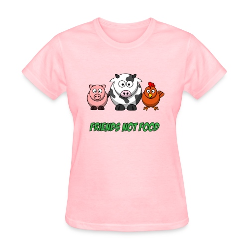 Friends not food women's t shirt - Women's T-Shirt