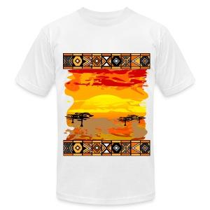 Back to Africa Tee - Men's Fine Jersey T-Shirt